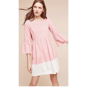 ANTHROPOLOGIE Holding Horses Pink Lilibet Dress